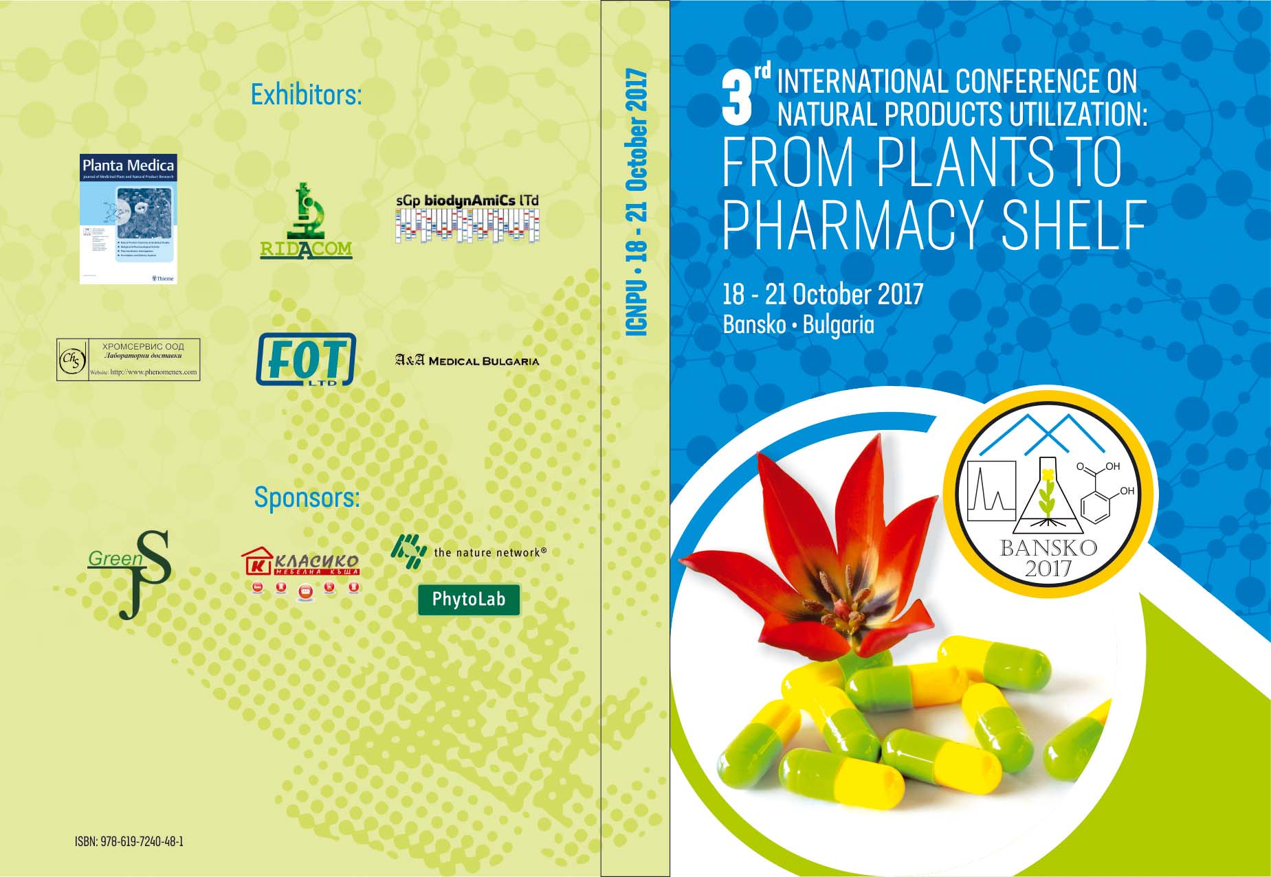 ICNPU 2019, 4th International Conference on Natural Products Utilization